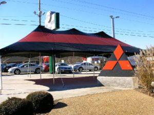 20×40 Black u0026 Red Commercial Tent & Commercial Tents u2013 Tent Tech Inc