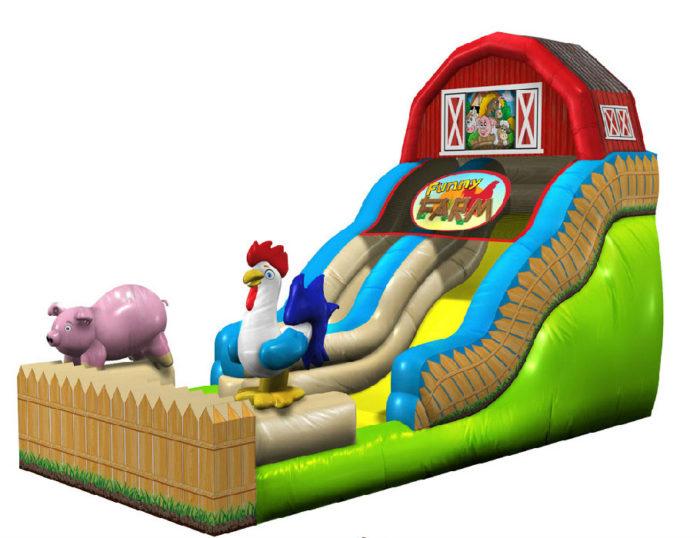 Funny Farm Slide