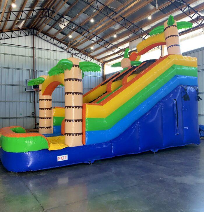 Adventure Island Slide Side View